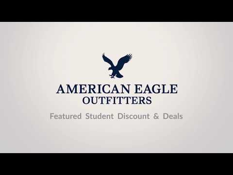 American Eagle Featured Student Discounts & Deals
