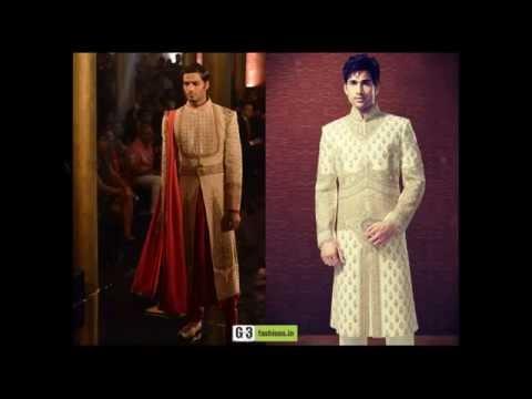 Men's Sherwani 2015, Pakistani, Indo western & Jacket Style Sherwanis