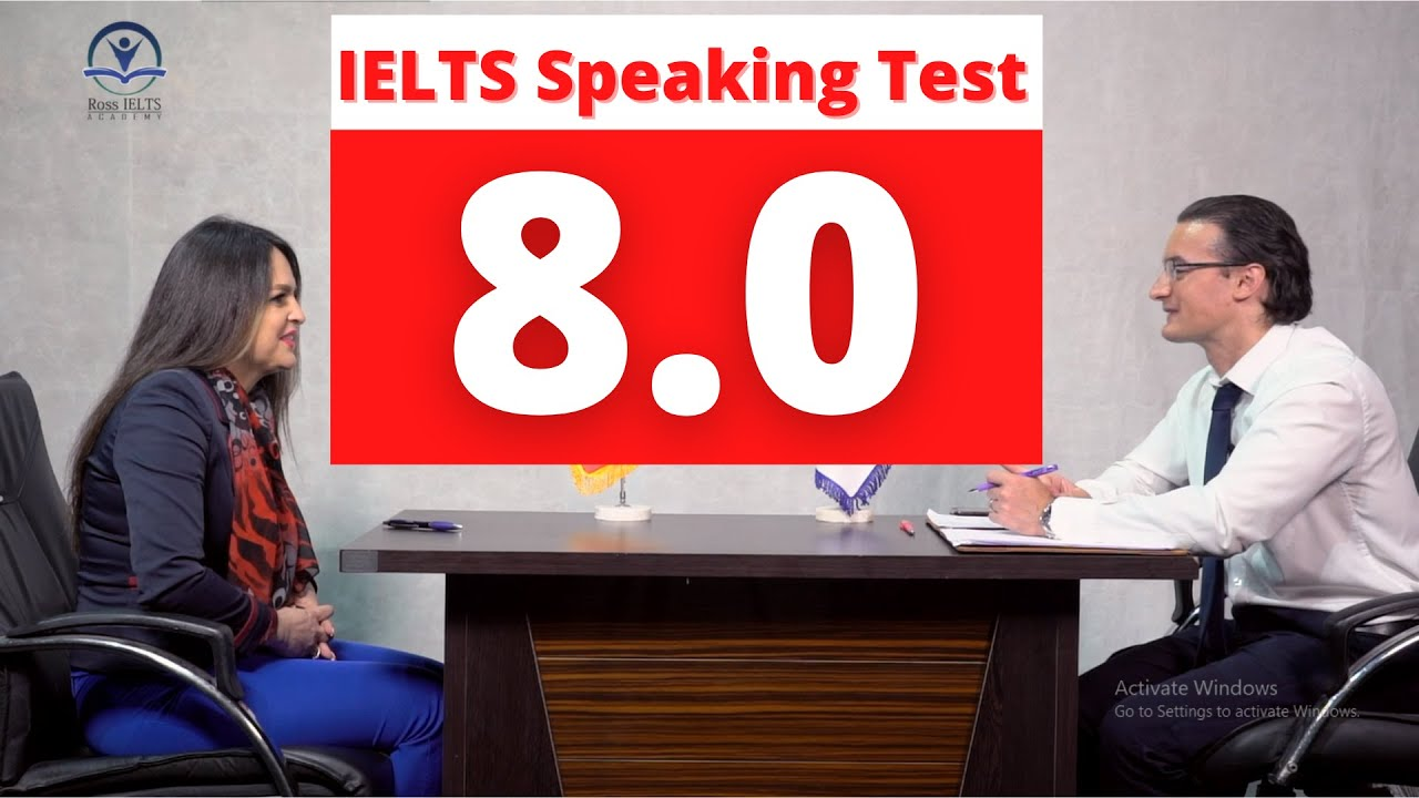IELTS Speaking Test Band 8 with feedback