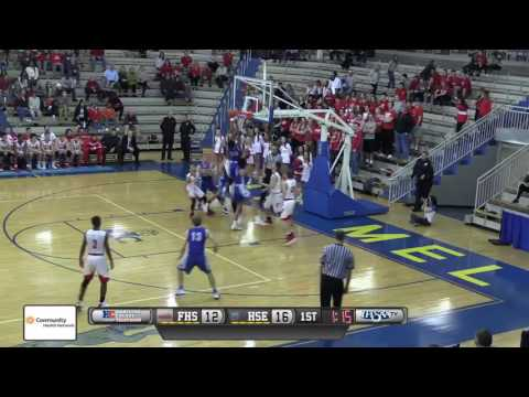 HSE vs Fishers Boys Basketball Sectionals