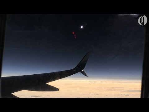 Alaska Airlines eclipse flight first to witness totality 2017