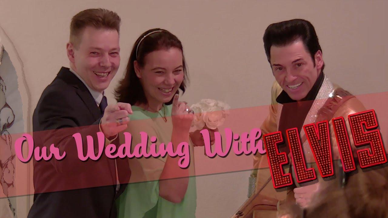 Wir erneuern unser Eheversprechen mit Elvis in Las Vegas! - YouTube