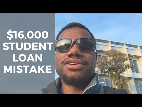 $16,000 Mistake By Delaying Student Loan Payments