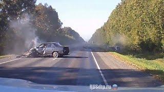 Подборка Аварий И ДТП Сентябрь 2014 #25 / New Best Car Crash Compilation August 18+