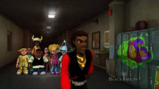 Da Jammies + 'Old School' featuring the voice of 'Kurtis Blow' on BlackTree TV