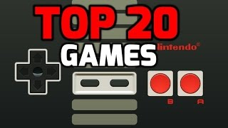 My Top 20 Nintendo (NES) Games Of All Time!