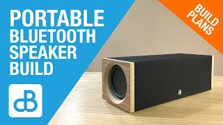 Portable Bluetooth SPEAKER BUILD - by SoundBlab