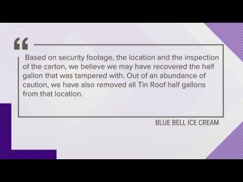Blue Bell says it found ice cream licked at Lufkin Walmart