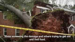Hurricane Michael leaves destruction behind