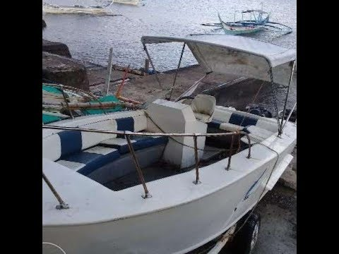 BOAT SAFETY PHILIPPINES   Kicker Outboard 25 Hp Yamaha Arrived  Preparing For Repairs On Boat
