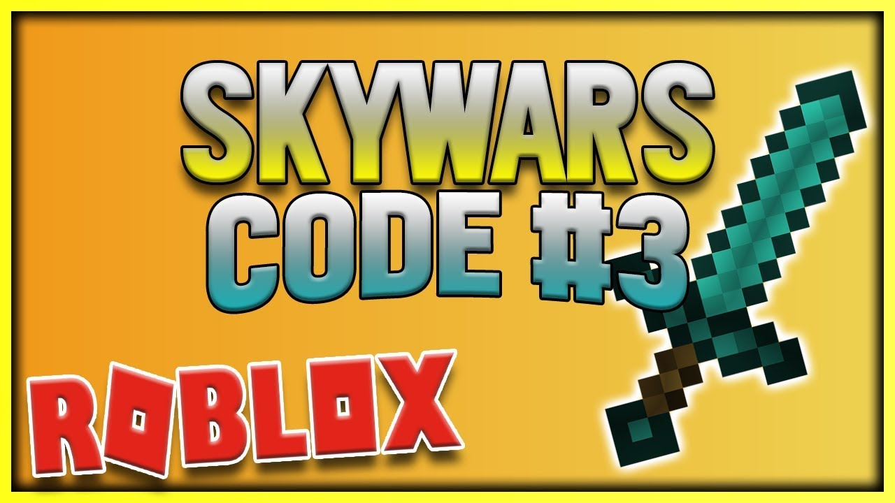 SKYWARS CODE #3   NEW WEAPON! - YouTube