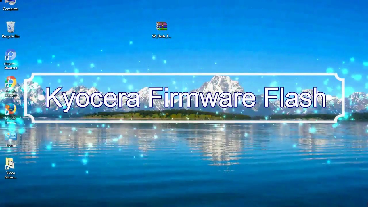 How to Flashing Kyocera firmware (Stock ROM) using Smartphone Flash Tool
