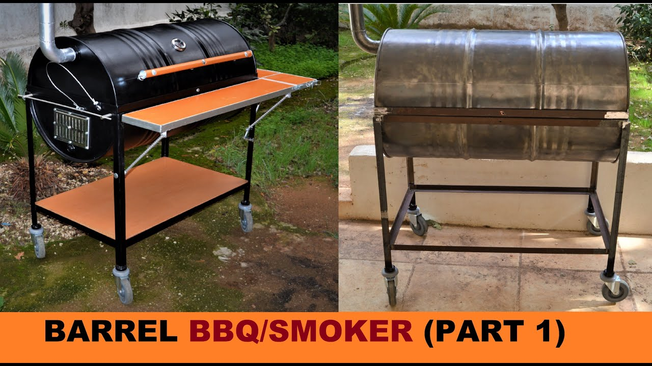 How To Build A Barrel Bbq Smoker Part 1 You