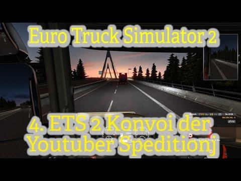 Euro Truck SImulator 2 online[004]/Lange Fahrt von Schweden nach Norwegen/Youtuber Speditions Konvoi