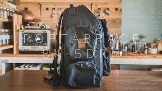 【PortaBrace】BK-5DRN 旅行用カメラバックパックを新調しました!