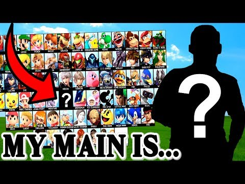My FIRST EVER Smash Bros Main Is... | Super Smash Bros Ultimate thumbnail