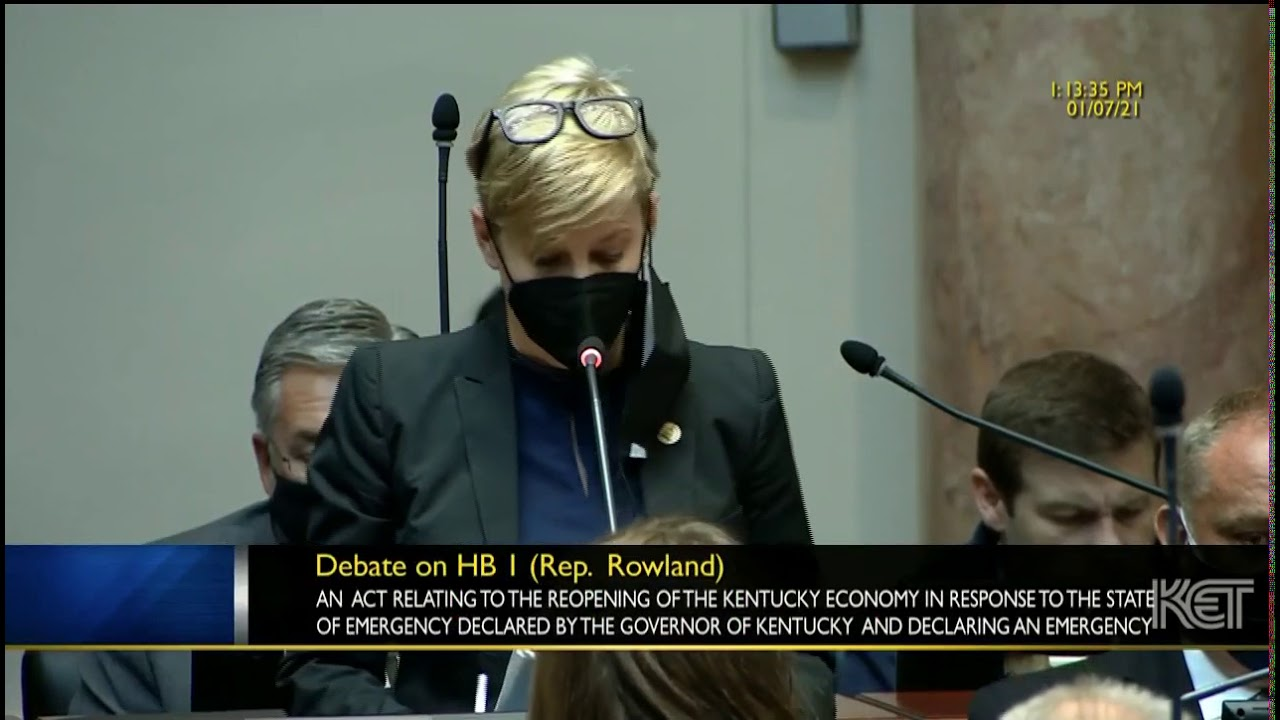 State Rep. Rachel Roberts, D- Newport, voted against the bill saying she didn't see how it made peop