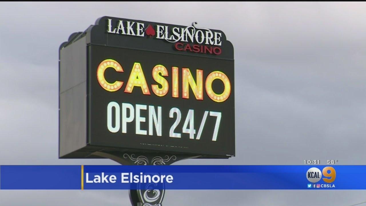 lake elsinore casino history