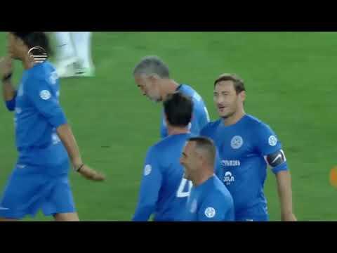 Francesco Totti goal at World Football Stars For Georgia