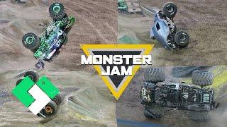 So Many Stunts! So Many Crashes! Monster Jam World Finals Freestyle | Clintus.tv