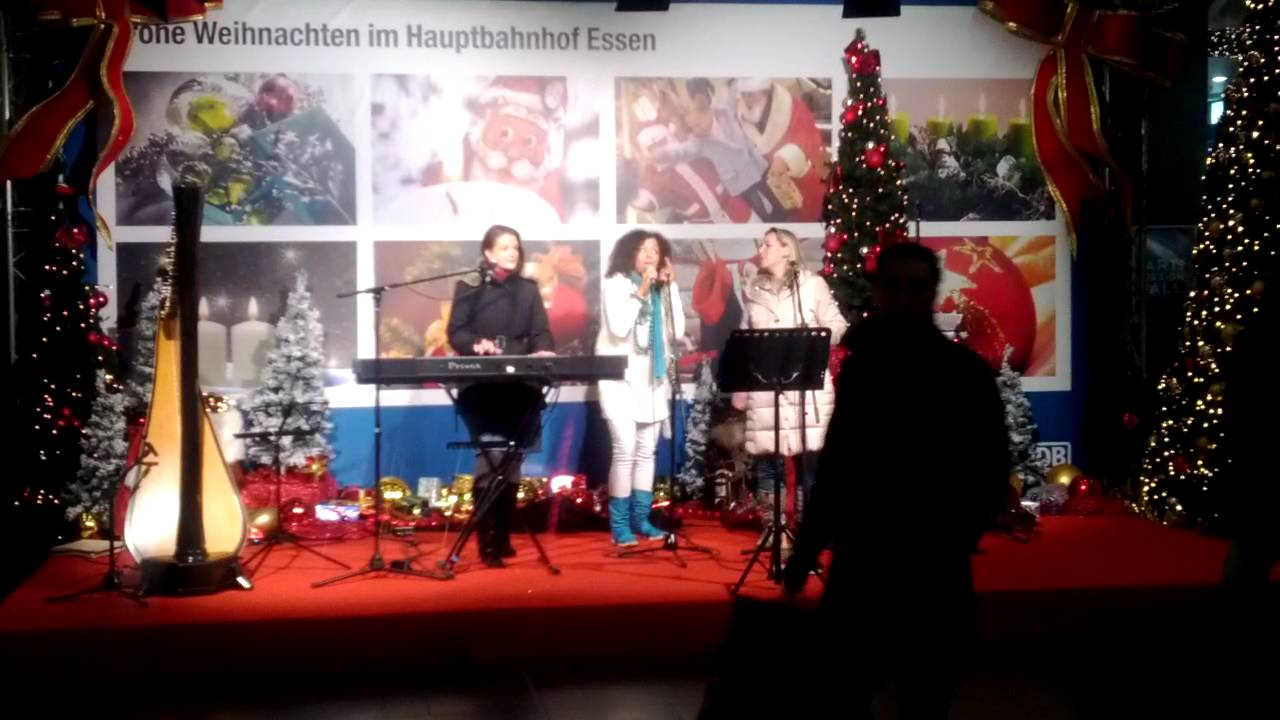 Voices of Joy at Essen Central Station (Germany) - Last Christmas ...