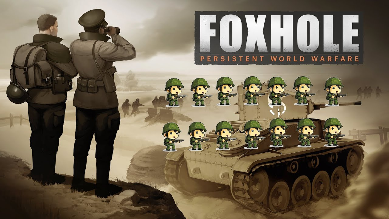 Foxhole: Suno On The Frontlines