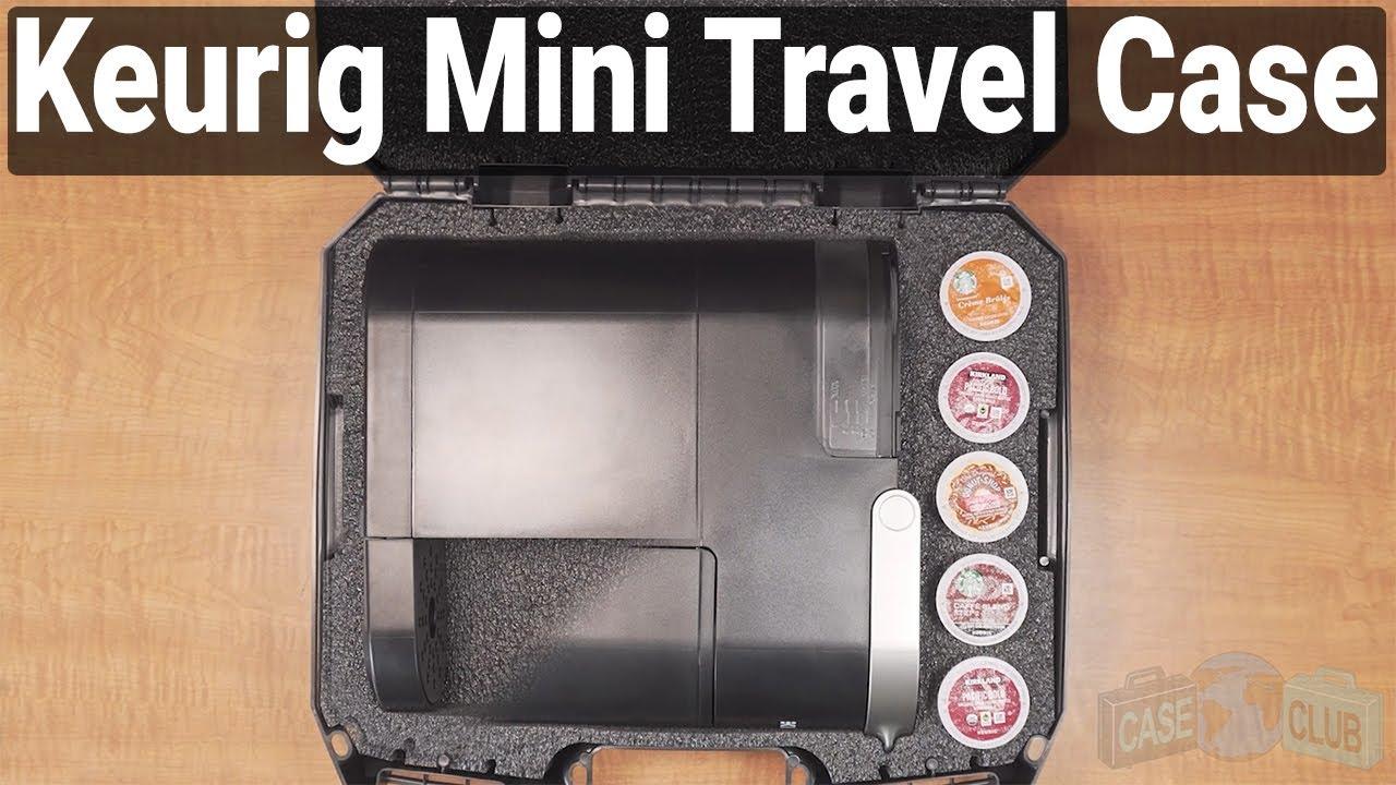 Case Club Keurig K-Mini Coffee Carry Case - Video