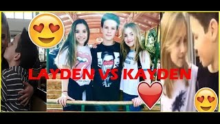 Hayden Summerall and Lauren Orlando VS Hayden Summerall and Mackenzie Ziegler, LAYDEN VS KAYDEN