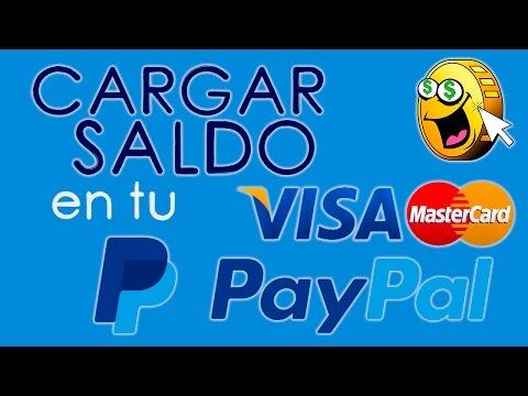 Como CARGAR SALDO a mi cuenta de Paypal con mi Tarjeta Debito Credito
