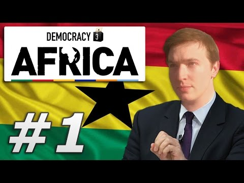 Democracy 3: Africa | Ghana - Year 1