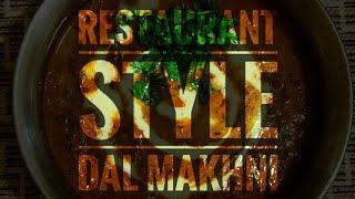 Dal Makhni | Restaurant Style | Nazila Amrin