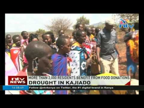 More than 2, 000 Kajiado residents benefit from food donations