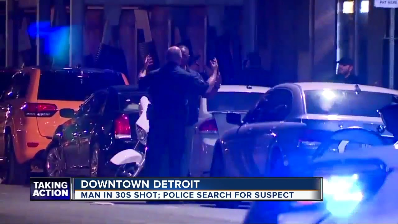 Police investigating shooting near Grand Circus Park in downtown Detroit