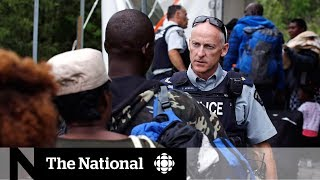 Rise in asylum seekers coming to Canada