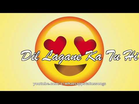 Muskurana Bhi Tujhi Se Sikha Hai - Love Song - WhatsApp Status Video 2