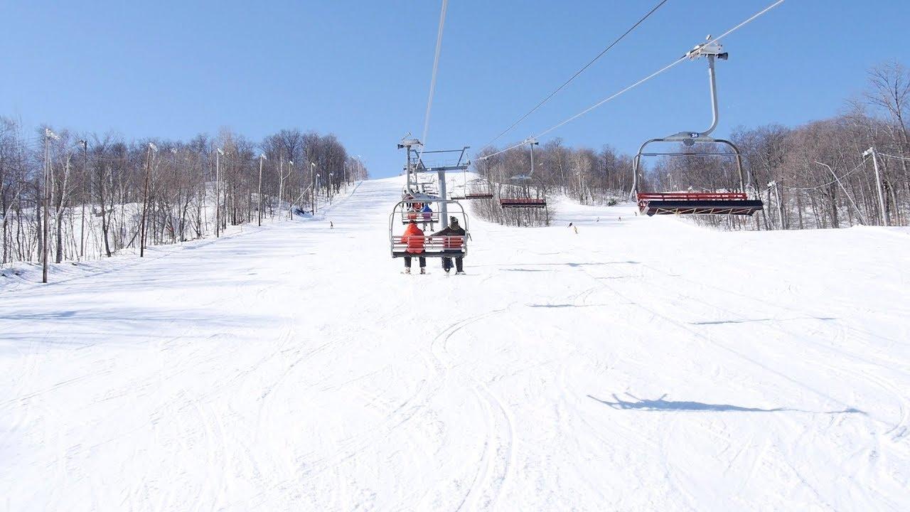 L'Express - Sommet Saint-Sauveur - versant Avila / Doppelmayr Quad Detachable Chairlift