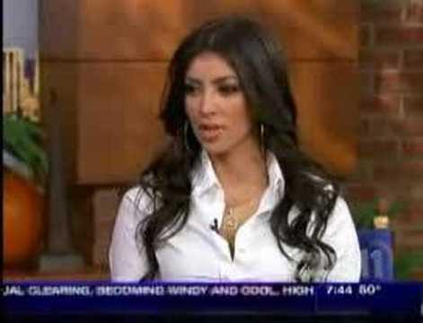 Kim Kardashian on CW11