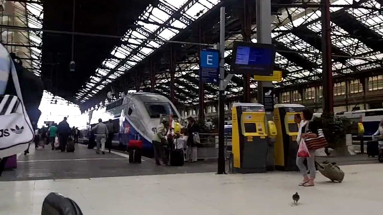 Paris gare de lyon train station youtube - Bureau change gare de lyon ...