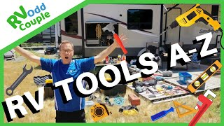 RV Tools Needed (Confession of a Tool Aholic) All Tools in My RV