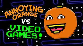 Annoying Orange vs Video Game Characters! (Supercut)
