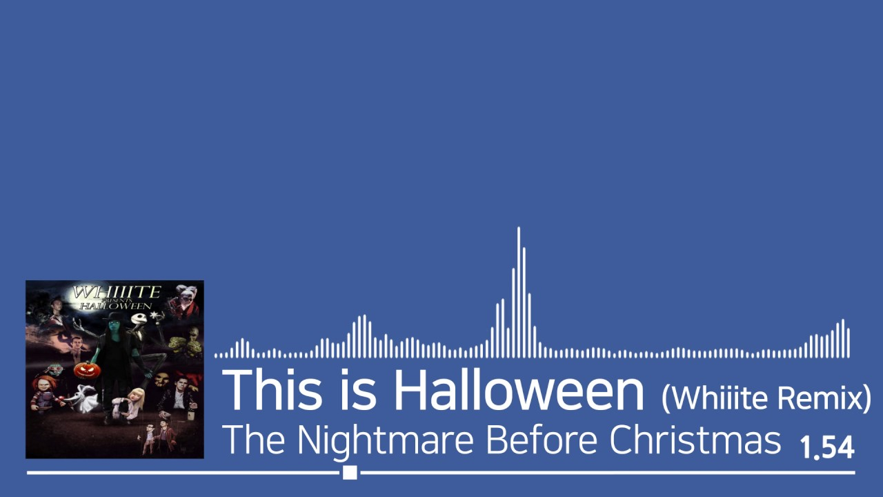 S]#015. The Nightmare Before Christmas - This is Halloween ...