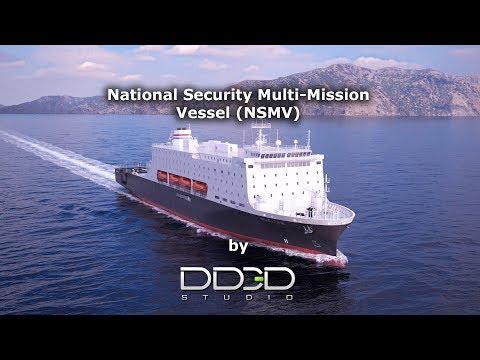 National Security Multi-Mission Vessel (NSMV) promo video