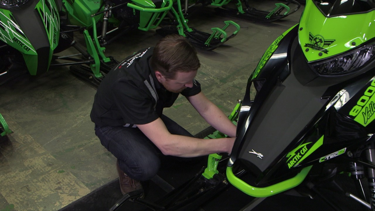 Valley Moto Sport Snowmobile Tech Tip: Ski Alignment and Adjustment