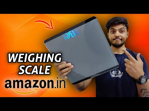 WEIGHING SCALE FROM AMAZON | Worth it ?? 🇮🇳