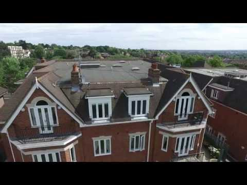 Building survey with drone - Holly Lodge 18-34 - 2016