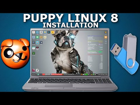 Puppy Linux Installation and Preview 2020