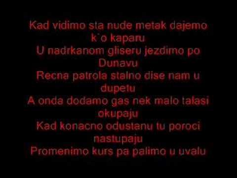 Beodradski Sindikat - Poroci Beograda (tekst)