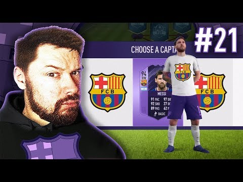 THE FC BARCELONA DRAFT! - #FIFA18 DRAFT TO GLORY #21