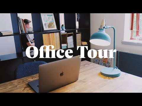 A Tour Of Our New Creative Office Space / Studio