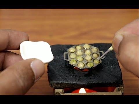 Mini Food - Paddu/GuLiyappa/Yeriyappa/Ponganalu/Kuzhi paniyaram I how to make Miniature Paniyaram